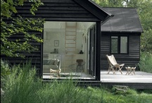 Cabin / Inspiration for our cottage in the Veluwe, the Netherlands. We love Living Outdoors! Cabin | Summerhouse / by Nathalie Fransen