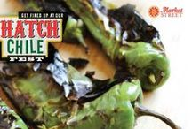 Hatch Chile Fest / August is Hatch Chile Fest at Market Street! We'll be showcasing Hatch chile products and recipes all month long. / by Market Street