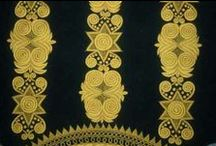 Broderie bretonne/ Brittany's embroidery / Typical embroideries from West part of France: Bretagne / by Odile Berget