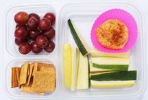 Quick & Easy Lunches / Need suggestions for quick lunches now that the kids are back in school? Check out our board of ideas. All of which fit into these handy Ziploc divided compartment containers!