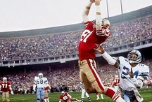 "San Francisco 49ers / I was at Candlestick for ""The Catch"" Montana to Clark. I went to Super Bowl XVI at the Pontiac Silverdome to see the Niners beat the Bengals.  Steve Young is my astro-brother (same birthday Oct 11) Jerry Rice told me he's giving up dancing for golf. San Francisco Niner fans - Tweet me @juliegallaher if you want to join our board. Go Niners! 49er Faithful http://juliegallaher.com  / by Julie Gallaher"