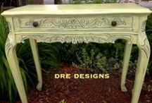 DRE DESIGNS Annie Sloan Chalk Painted Furniture & Accessories / These are all pieces that I have done using Annie Sloan Chalk Paint, either to sell or for my client's homes.  I absolutely LOVE this paint and use it every chance I get.  For information on pricing of furniture pieces or to have a quote on a custom piece done, contact me at andrea@dredesigns.ca or find me on Facebook www.facebook.com/dredesigns.ca