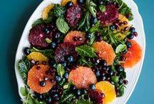 Salad Recipes / Lots of vegetarian salad recipes!