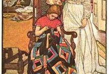 Archives textiles / Un tableau pour garder en mémoire les archives textiles trouvées ça et là. Archives françaises et étrangères / by Odile Berget