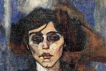 Art - Modigliani / by Nicola Young