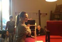 Tour guides of Franco Albini Foundation
