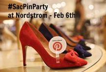 Sac Pin Party / Hi Sacramento - Join us at the next #SacPinParty on February 6th at Nordstrom Sacramento.  Tickets at http://sacpinparty.eventbrite.com  / by Julie Gallaher