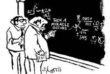 Science cartoons / Fun from some of the top science cartoonists