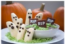 Gluten-Free Vegan Halloween / Healthy vegan Halloween treats for kids of all ages! Most are low fat or can easily be made low fat.