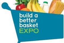 Build a Better Basket / Healthy Recipes and a preview of the products that will be available to try at the Build a Better Basket EXPO at all Market Street stores on January 11 & 12, 2014. / by Market Street