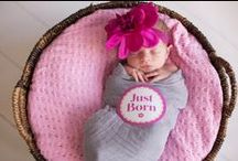 Baby's First Photo / Ideas, props, baby outfits and more for baby's first photos