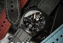 Bell & Ross watch / Example model: BellRoss-BR01-97-S