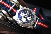 Breitling Watch Band / Example models: Breitling Chronomat Evolution, Breitling-B-2-Chrono-A42362