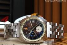 Omega Watch Band / Example models: Omega Seamaster Chrono ST-176, Omega F300Hz, Lady Speedmaster Diamond Chrono
