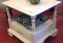 DRE DESIGNS Fusion Mineral Paint Furniture & Home Decor pieces / Furniture & Home Decor painted by Andrea Guerriero of DRE DESIGNS using Fusion Mineral Paint