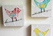 Canvas Art Ideas / by Jennifer Black