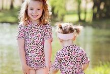 Big Sister - Little Sister Outfits / Sometimes being a little sister is better than being a princess! And what little sis doesn't adore dressing up like big sis? Give them complimentary outfits that let them both shine!
