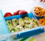 """Build A Better Lunchbox / Get inspired with these healthy lunch combos hand-picked by our Dietitians. Look for the """"Build A Better Lunchbox"""" tags in our stores to start trading up to healthier choices to go."""