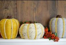 Fall Crafts and Recipes / Fall crafts and recipes for making the most of my favorite season, autumn. Pumpkins, leaves, and more!