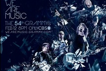 We Are Music / The 54th GRAMMY Awards Campaign from 2012 / by The GRAMMYs