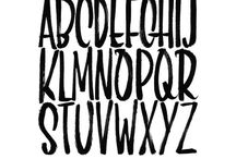 Fonts / Fonts to download and Font ideas to draw / by Suzy Plantamura