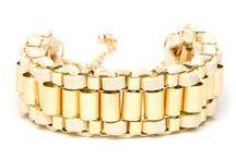 arm candy / bracelets, bangals, watches, mmmmm / by Caitlyn Albert
