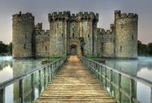 """♡♡♡ Castles ♡♡♡ / They Are All Around Us Here In The North East In Northumberland, United Kingdom. I Love Them All Makes No Difference Where They Are They Are All Spectacular In Their Own Special Way!""""  / by ✿⊱♥ Sock-A-Doodle-Doo ♥⊰✿"""