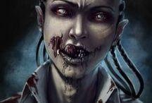 .  Zombie  . / . • Zombie, apocalypse • .