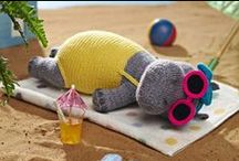 """♡♡♡ Knitted Softies ♡♡♡ / """"Adorable!""""  / by ✿⊱♥ Sock-A-Doodle-Doo ♥⊰✿"""