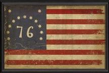 Historical Flags | American History Prints / Historical Flags Our historical US flags like the Betsy Ross Flag, Bennington Flag, Gadsen Flags, U.S. Navy Jack and Confederate Battle flags are a wonderful remembrance of our American heritage. These high quality outdoor flags are made with the same material and careful attention to detail as our most popular nylon U.S. flags. The Betsy Ross flag and the Bennington flag are offered in a printed version or the more deluxe model with sewn stripes and embroidered stars.