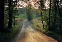 At the end of a Dirt Road. / Sometimes this is all you need. / by Debra Bible
