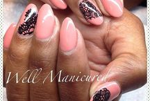 Well Manicured / As a manicurist of 14 years, I am always impressed by an amazingly done mani plus all the countless options of nail art & embellishments at our disposal. This board includes not only my own work but also that of others; beautiful creations of Well Manicured nails.