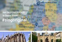 Hol dir POWERVOICE in deine Stadt / Hol dir POWERVOICE in deine Stadt!  Von der Nordsee bis zum Bodensee sind insgesamt 72 Städte auf unserer POWERVOICE Workshop-Tour. Du entscheidest!  http://powervoice.de/gesangsworkshop-in-deiner-stadt/ POWERVOICE ist der erfolgreichste Anbieter für Rock/ Pop-Vocalcoaching in Deutschland. #POWERVOICE #Gesangsworkshop #singoriginal