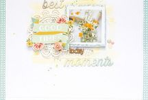 Scrapbook Layout Favorites / My favorite Scrapbook Layouts that inspire me to create