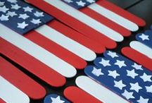 Red, White & Blue / Celebrate the patriotic holidays with these great ideas. Fourth of July  Memorial Day Labor Day / by White House Nannies