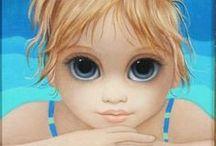 Margaret Keane Pintora / pintura