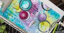 Mixed Media with Spellbinders