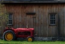 Old Barns &  Tractors / by Doris Robinson