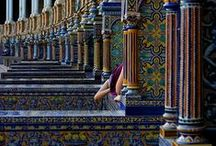 Destination: Spain / Travel with us as we explore the country, the people,  and the food of Spain, while highlighting the hand-crafted tile that can be admired in and around historic basilicas, as well as the full spectrum of tile-incorporating designs that can be seen within its most modern of architectural structures. / by Avente Tile