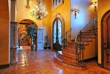 Staircases, Halls, Entries / Make a dramatic entrance, or exit, near these beautifully crafted and designed staircases, hallways and entries.