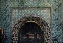 Fireplaces / Hearths / The beauty, versatility and longevity of tile has been proven over the centuries. Come with us as we explore how encaustic cement and ceramic tiles can be the focal point of any room.