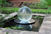 Fountains, Water Features / A fountain brings serenity to any outdoor or indoor space with the soft sound of free-flowing or trickling water.