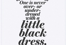 Black Magic / Winsome black apparels - from little black dress, gorgeous gown to bold jackets and details.. / by Jess Chow