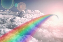 Somewhere Over the Rainbow.. / A Colourful Rainbow - the icing on the cake of the beautiful nature God created.. / by Jess Chow
