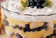 DESSERTS [Trifles, dips and cheeseballs]