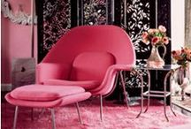 Color: Pink / A pinboard devoted to the various shades of pink.