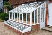 Greenhouse Inspiration / Beautiful yet simple greenhouse designs that won't cost a fortune to build. For year round vegetables and fruits on the homestead.