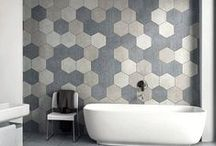 Tile Shapes: Hexagons / Mimicking nature with it's six-sided honeycomb shape, hexagon tiles are steeped in history.