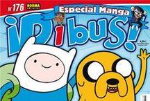 Revistas para nenos e nenas / Estas son las revistas que podrás encontrar en las salas infantiles de las biblios, y llevártelas a casa!