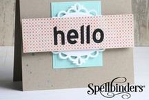 Sapphire™  Machine / Spellbinders® Sapphire™ machine is an affordable and easy start to your crafting journey. With Sapphire, your creations will sparkle and shine every time. Use with our blue Sapphire die templates, along with most Spellbinders and leading die templates.  / by Spellbinders